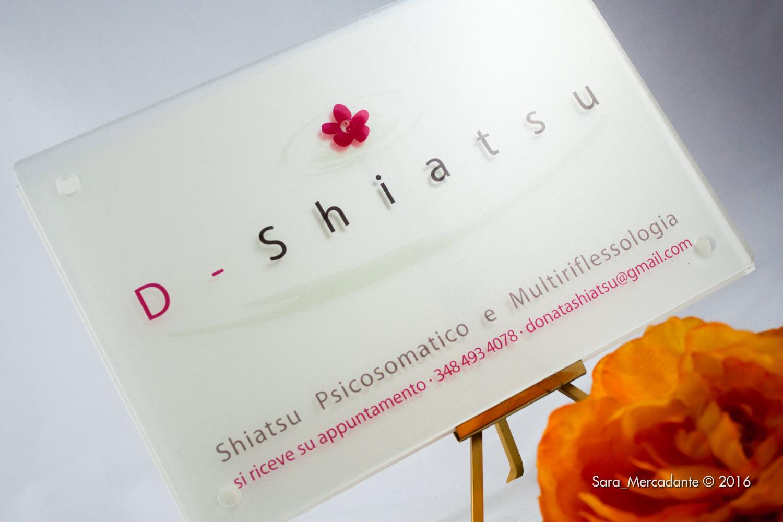 d-shiatsu targa plexiglass